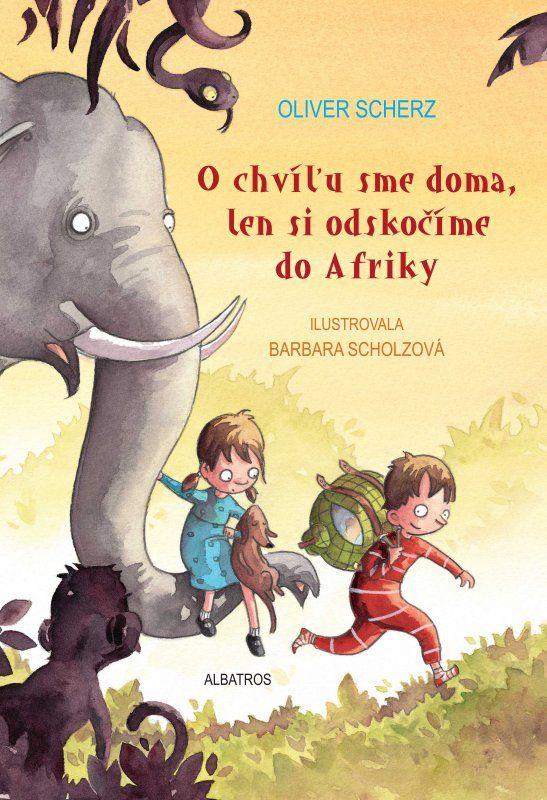 Čo by ste urobili, keby vám neskoro večer zaklopal na okno slon? A čo ak by tento slon ušiel zo zoo, aby navštívil svoju rodinu v Afrike, hoci vôbec nevie, kde sa ten neobyčajný kontinent nachádza? Súrodenci Joscha a Marie si zbalia batôžky, do nich jablká, keksy a glóbus. Tak putujú spolu so slonom v presvedčení, že Afrika predsa nemôže byť veľmi ďaleko. A zažijú cestu, ktorá prekoná všetky ich predstavy...