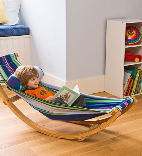rocking hammock lounger   kids hammocks   magic cabin the 25  best kids hammock ideas on pinterest   crochet hammock diy      rh   pinterest co uk