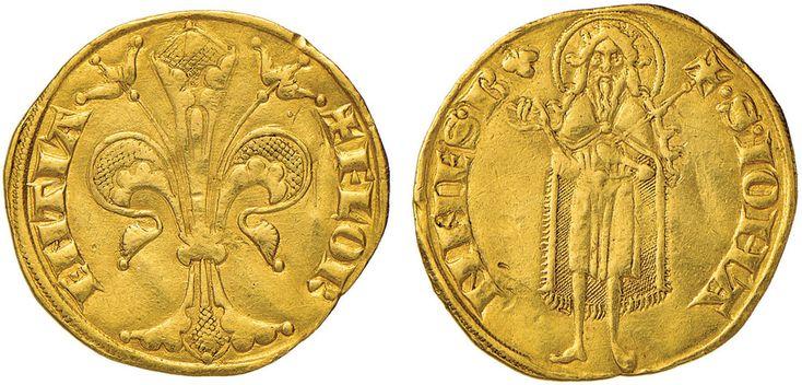 NumisBids: Nomisma Spa Auction 51, Lot 1320 : FIRENZE Repubblica (sec. XIII-1532) Fiorino simbolo trifoglio,...
