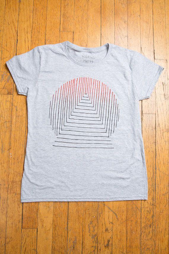 TRANSMISSION Heather Grey Ladies T-shirt