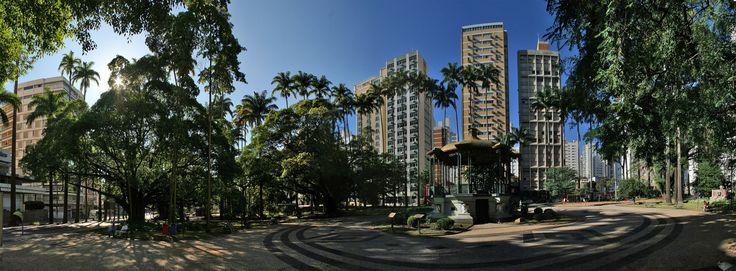 Praça Carlos Gomes, centro © Paulo Padilha