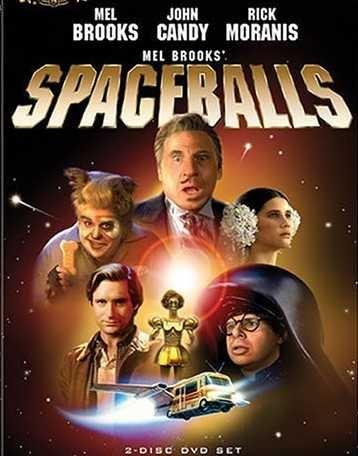 """Spaceballs"" (1987) Mel Brooks ...President Skroob / Yogurt -   John Candy ...Barf   - Rick Moranis ...Dark Helmet  -  Bill Pullman ...Lone Starr   - Daphne Zuniga ...Princess Vespa"
