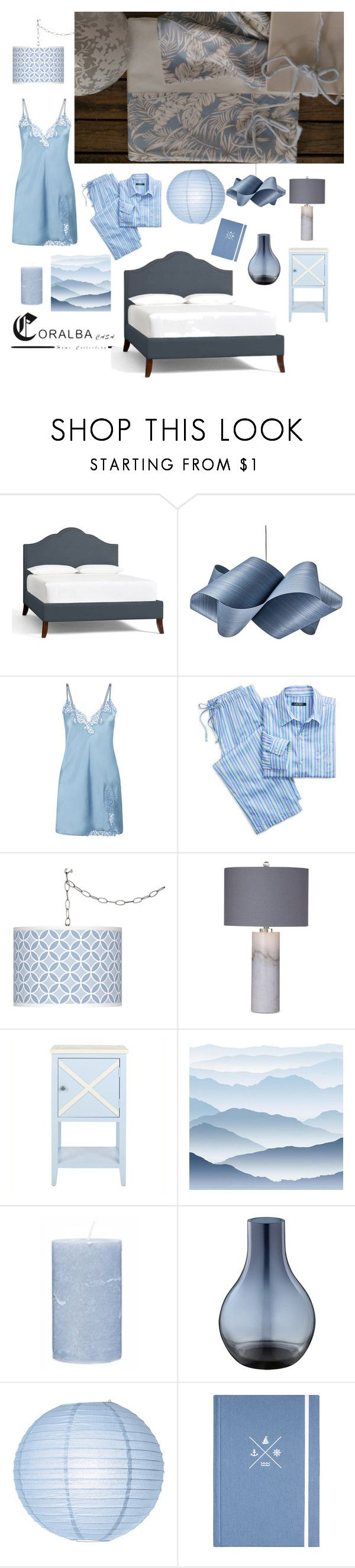 """""""#coralba"""" by silvia-magazzini ❤ liked on Polyvore featuring interior, interiors, interior design, home, home decor, interior decorating, Pottery Barn, LZF, Ralph Lauren and Giclee Glow"""