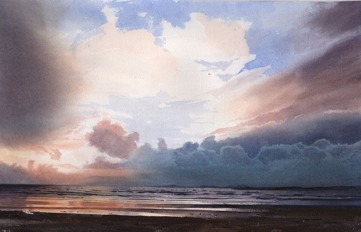 Link to Break in the weather, an original watercolour painting by Rob Piercy