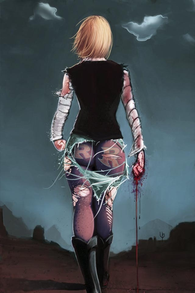 Dragon Ball Z - Android 18 #Ass and #Badass