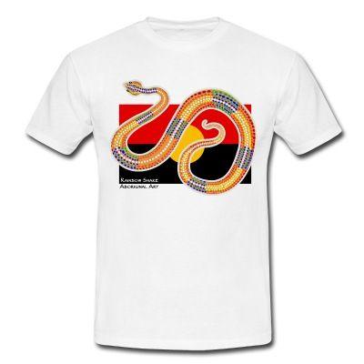 Le rainbow snake est protecteur du peuple Aborigène, mais il peut aussi punir ceux qui enfreignent la loi. Il donne et reprend la vie. Sa mythologie est liée à la terre, à l'eau, à la vie... T-shirts, Sweat-shirts, vêtements homme, femme, enfant & bébé, accessoires déco, coques pour portable & tablette http://shop.spreadshirt.fr/tee4tee/