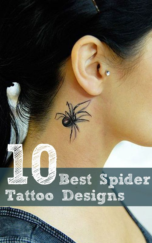 best spider tattoo designs our top 10 spider tattoo spider and tattoo. Black Bedroom Furniture Sets. Home Design Ideas