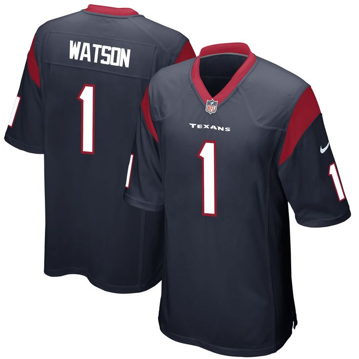 Deshaun Watson Houston Texans Nike 2017 Draft Pick Game Jersey - Navy