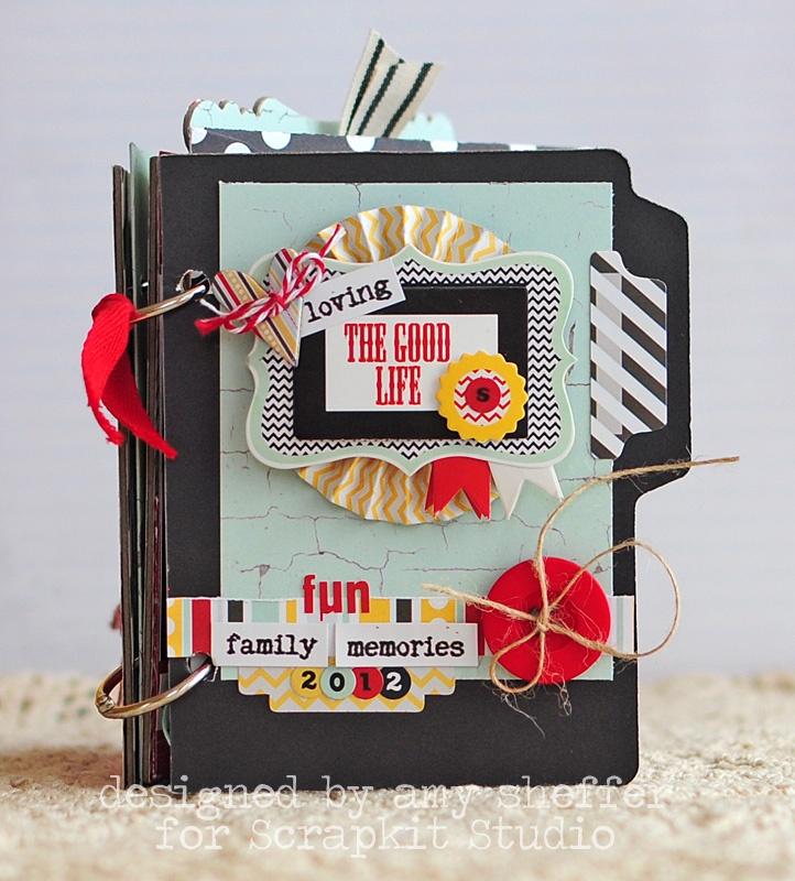 Pickled Paper Designs: Scrapkit Studio: The Good Life Mini Album