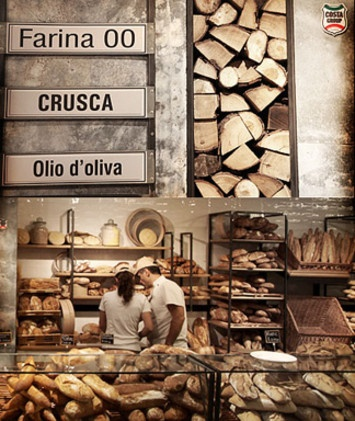 Bread at Eataly