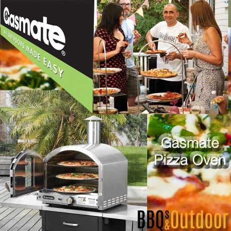 Gasmate Pizza Oven- Stainless Steel   BBQ's & Outdoor