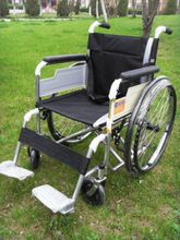 10% off Rehabilitation Wheelchair thickening steel pipe folding thickening cushion light wheelchair //Price: $US $431.31 & FREE Shipping //