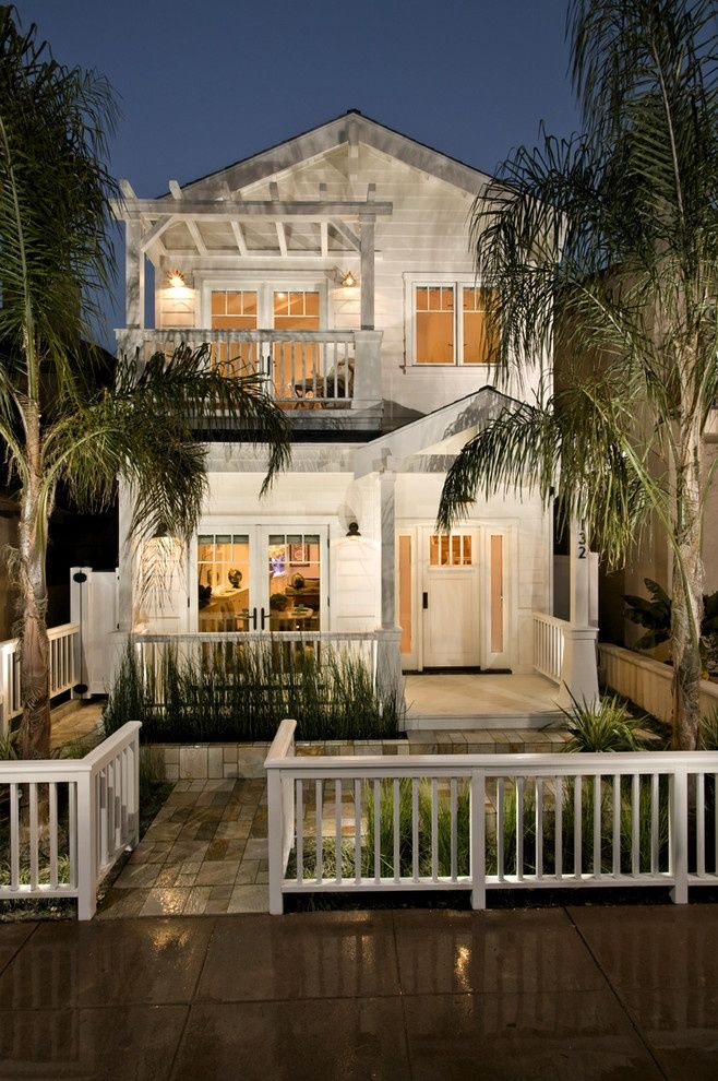 I love how they extended this house & added a balcony, will def be doing something like this...