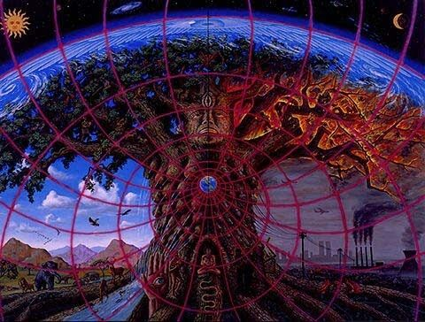 Gaia (favorite! ♥)Gaia, Alex Grey, Painting Art, Mothers Earth, Trees Of Life, Mothers Nature, Alexgrey, Alex Gray, Alex O'Loughlin