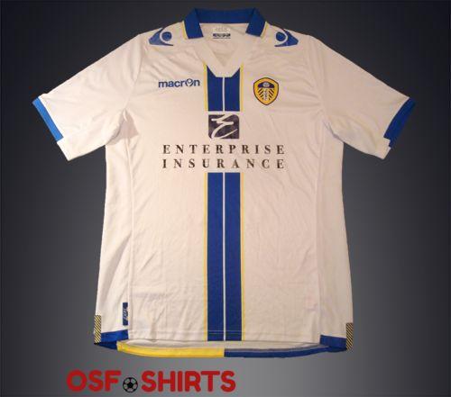 LEEDS-UNITED-HOME-2013-2014-L-FOOTBALL-SHIRT-Jersey-Maglia-Camisa-Mailot