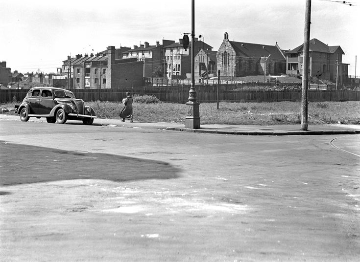 Corner of Harris and John Streets,Pyrmont,Sydney (year unknown).