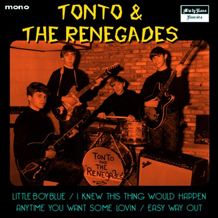 """TONTO AND THE RENEGADES  """"Little Boy Blue"""" 7"""" EP"""