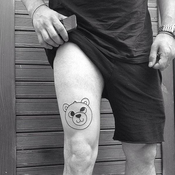 25+ Best Ideas About Leg Tattoos On Pinterest