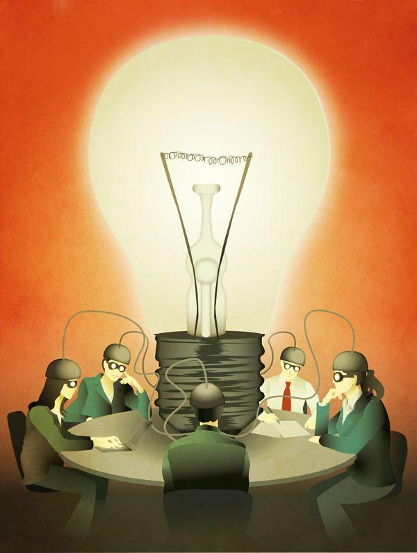 Magazine Illustration #06 on Behance