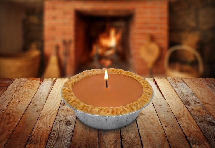 14oz Pumpkin Pie Scented Candle - 5 Inch Candle - by Candle Baker