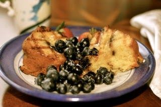 There's still plenty of summer left! New England Blueberries | Got Cake? Grilled Coffee Cake