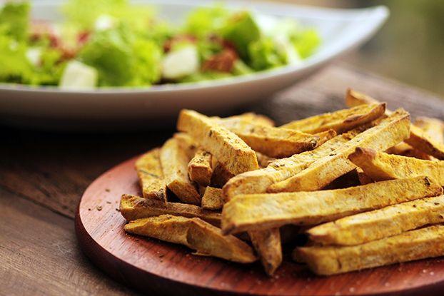 Mel e Pimenta: Batata-doce rústica e nada de fritura