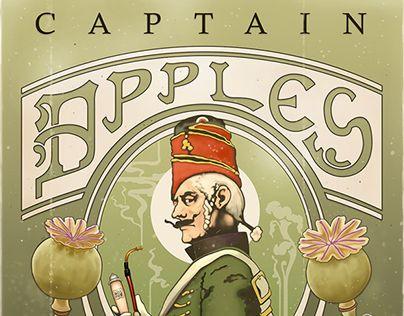 Captain Apples play Open Studio. https://www.behance.net/gallery/17440085/Gig-posters-Captain-Apples