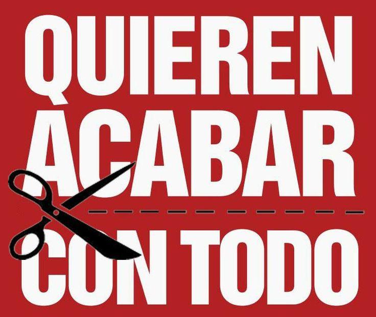 símbolo de los recortes sociales en españistan  siglo XXI