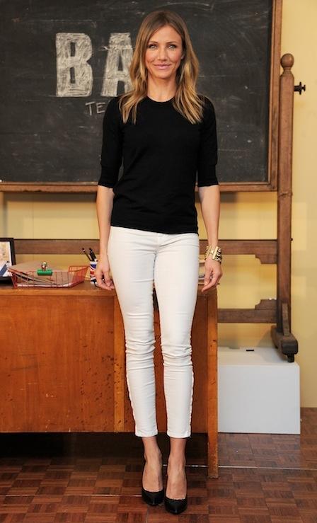 cameron diaz. bad teacher. good outfit.