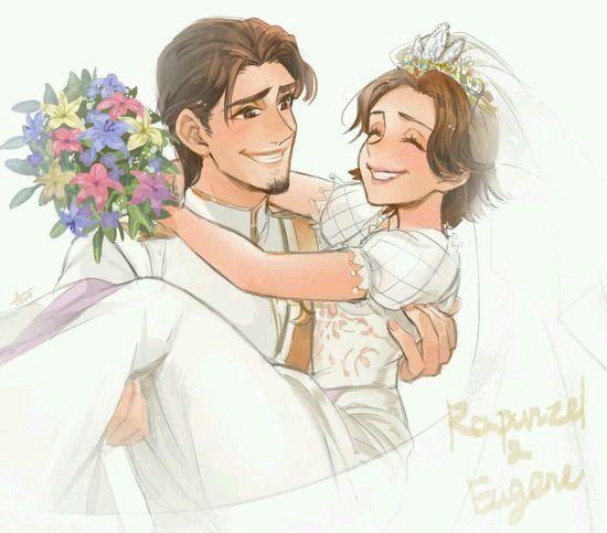 Rapunzel e José casamento