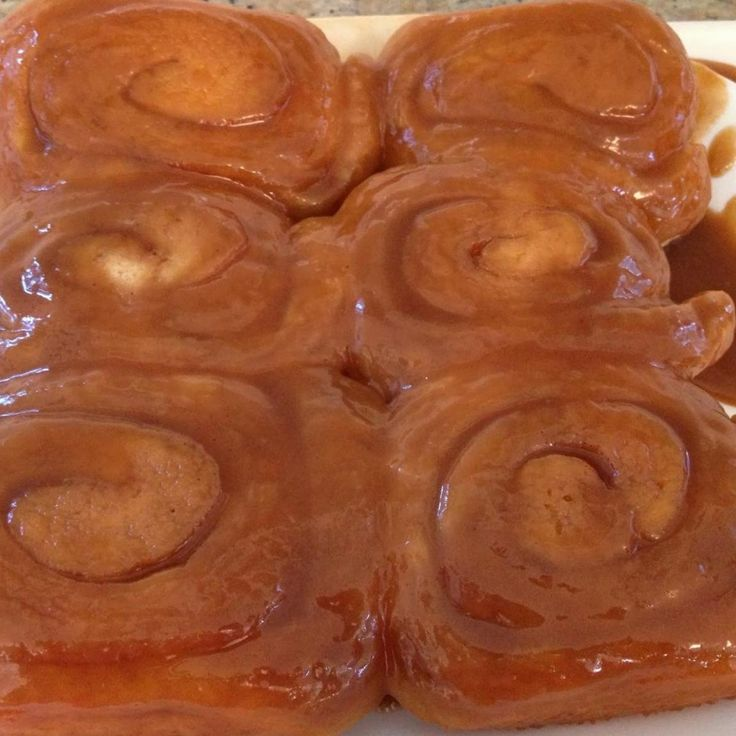 North Dakota Caramel Rolls