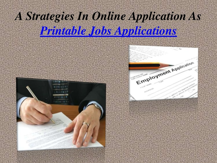 The 7 best images about Employment Applications Forms on Pinterest - application forms
