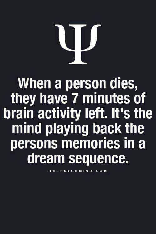 When a person dies