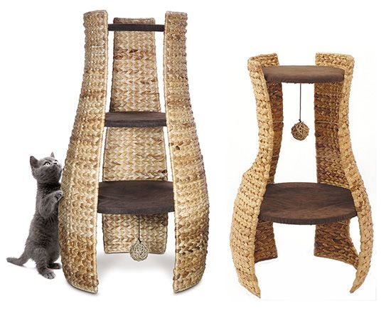 17 best images about cool cat products on pinterest cats for Cat tower designs