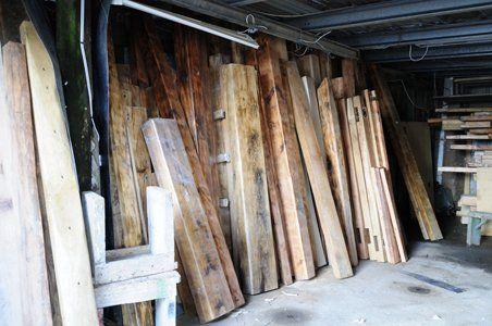 Original Reclaimed Timber Beams