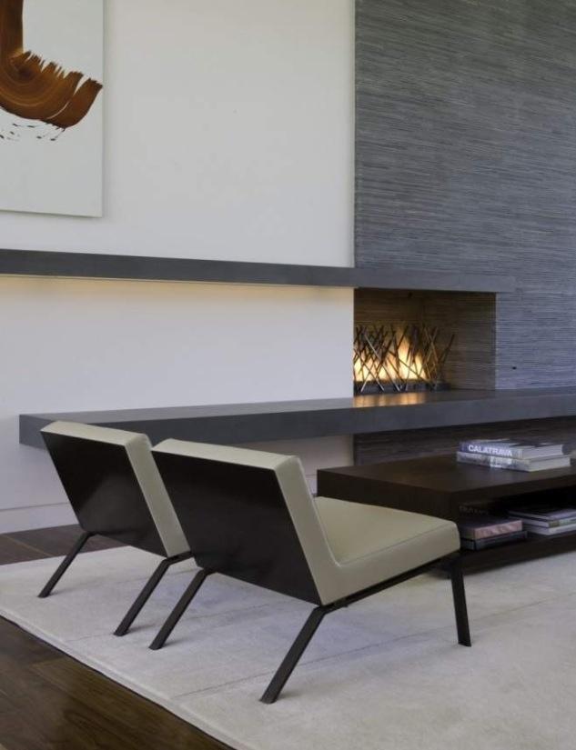 Creatively sleek living space....