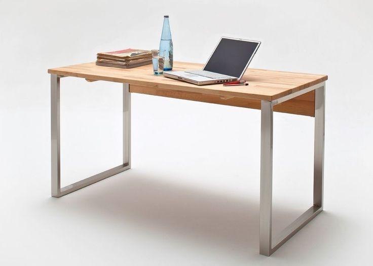 Schön Computer Schreibtisch Holz : The Best Ideas About Schreibtisch Massivholz  On Massivholztisch Eiche