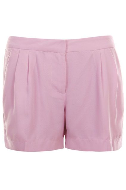 ROMWE | Retro Purple Pleated Shorts, The Latest Street Fashion #ROMWEROCOCO