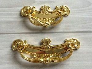 64 96 mm Gold Schubladen Griff Schrank Kommoden Griff Möbel Griffe Kommodengriff