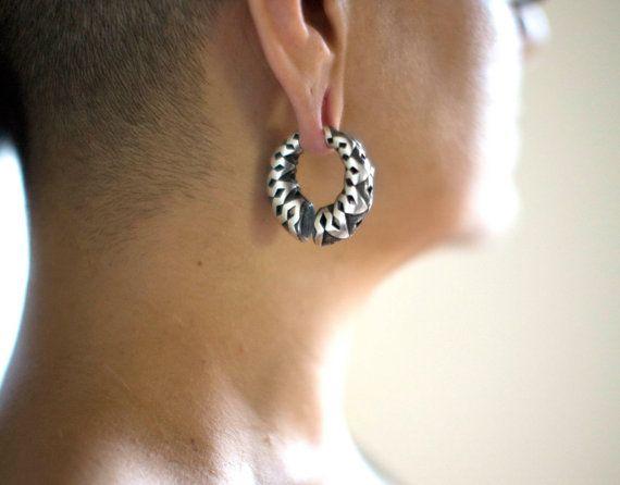 Oído pesos orejas estiradas Tribal pesos por eleven44jewelry