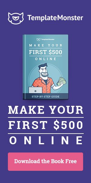 "Download Our Step-by-Step Guide, Sign Up for Our Free Private Marathon ""Make Your First $500 Online"" and Grab Your Luck & Fame - https://500.templatemonster.com/"