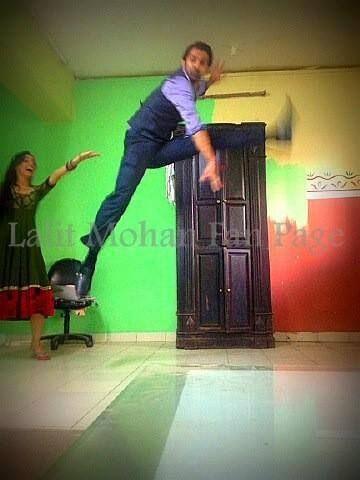 Barun Sanaya on the sets of IPKKND