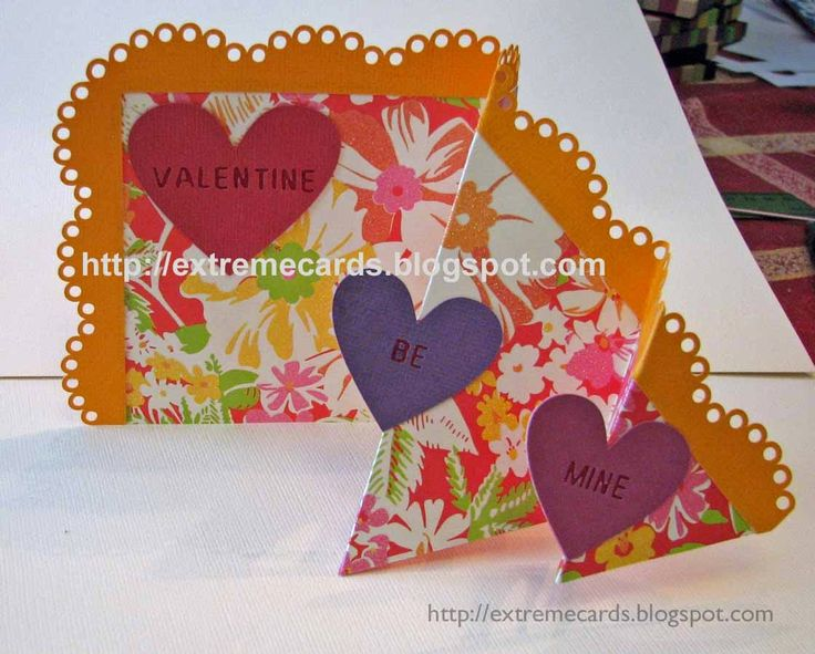 87 best Valentine Cards and Paper Crafts images on Pinterest
