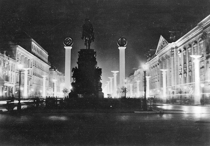 Berlin-Mitte, Unter den Linden, 1937