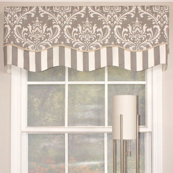 This Glory Valance Is A Bold Option For Your Windows Featuring A