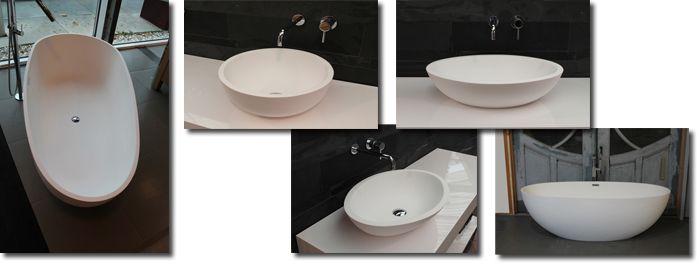 Afbeelding van Nieuw bad Luva Solid Surface minimalistische uitstraling