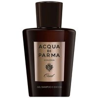 Acqua Di Parma Colonia Oud Hair and Shower Gel This revitalising gel has a light, clear texture that develops into a rich lather when in contact with water, lightly scenting your skin and hair with the warm, pleasant citrus notes of Colonia Oud. A http://www.MightGet.com/january-2017-13/acqua-di-parma-colonia-oud-hair-and-shower-gel.asp