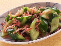 「きゅうりと桜えびの炒め物」の料理レシピ/完成イメージ