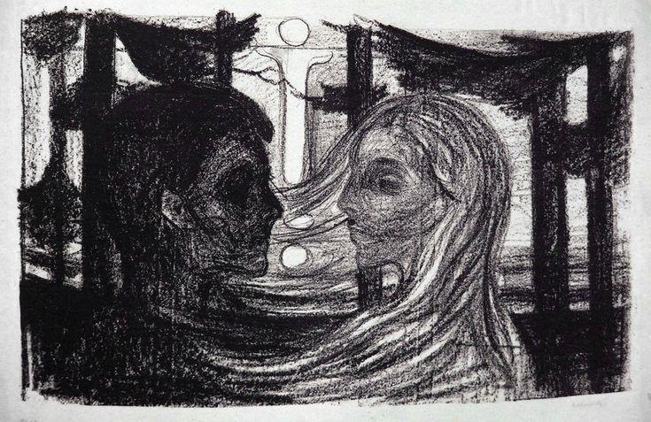 Pin By Tiki T On Artsy Fartsy In 2019: Aqua Regia — Attraction II (1896) - Edvard Munch