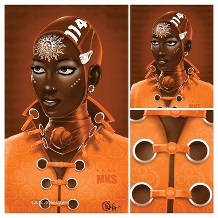 AfroAF/BlackSF • fuckyeablackart: Artist James Eugene...
